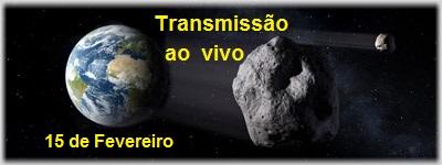 Asteróide de 140 mil toneladas, 2012 DA14 passará 'raspando' na Terra
