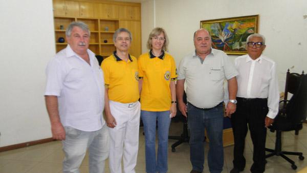 Governador do Lions visita Prefeitura e Câmara de Vereadores de Cambé