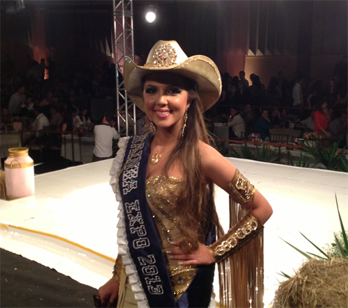 Cambeense Fernanda Mansano Guasti é eleita Rainha da ExpoLondrina 2013
