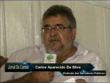 Entrevista com o Presidente do Sindicato Servidores Municipais Cambe (Vìdeo)
