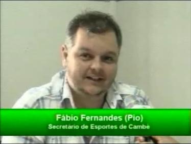 Entrevista com Fábio Fernandes secretário de esportes de Cambé