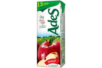 Vigilância Sanitária emite alerta de recolhimento de lote do Ades sabor maçã