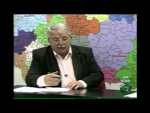 Entrevista com o Presidente da Câmara de Vereadores Elizeu Vidotti (Vídeo)