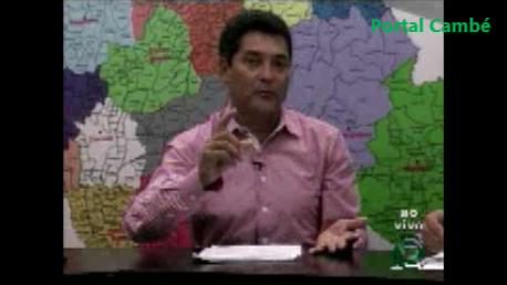 Entrevista com o vereador Cecílio Araújo/PT (Vídeo)