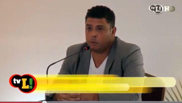 'Copa se faz com estádios, não com hospital' Vídeo de Ronaldo causa revolta entre os internautas