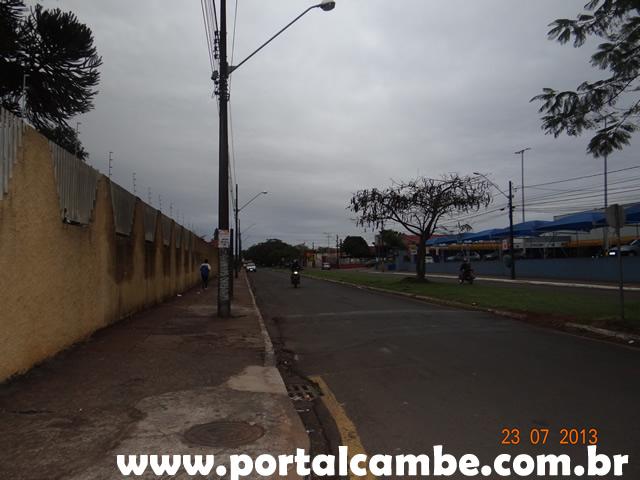 Cambé hoje as 7h, Av. Grabriel Freceiro de Miranda - Jardim Santo Amaro