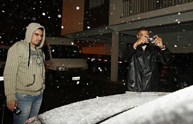 Neva em Palmas e em outros municípios do Paraná