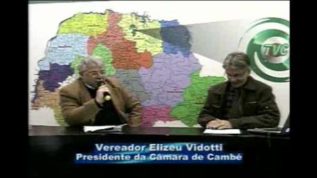 """Presidente da Câmara de Cambé fala sobre a polêmica do """"Aluguel Social"""" (Vídeo)"""