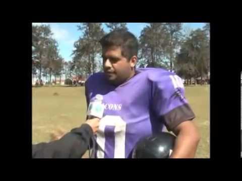 Cambé conta com um time de Futebol Americano (Vídeo)