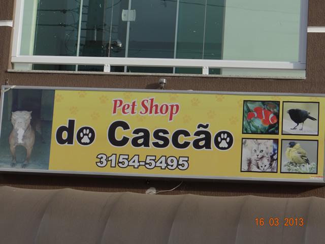 Cambé tem os excelentes serviços do Pet Shop do Cascão Fone (43) 3154-5495