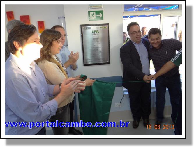 UPA 24h foi inaugurada em Cambé