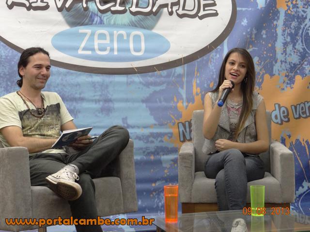 Cantora de Ibiporã entre os melhores do programa Festival Sertanejo do SBT