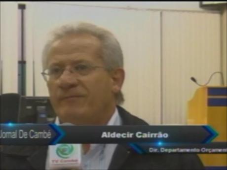 Prefeitura de Cambé apresentou o PPA, Plano Pluri Anual (Vídeo)