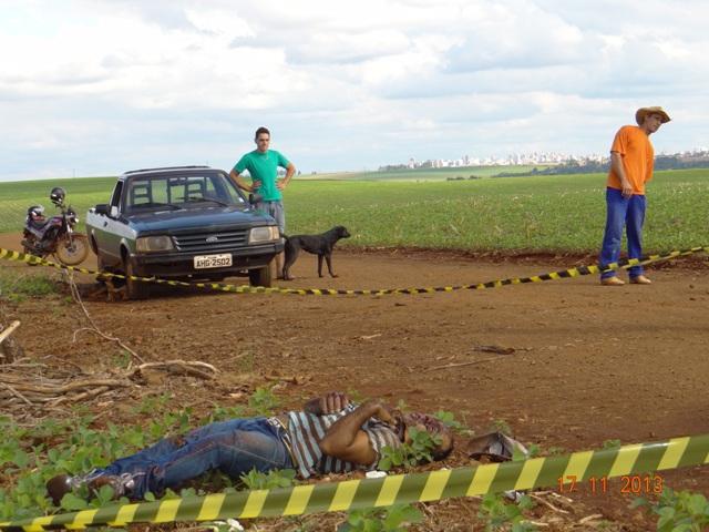 Corpo é encontrado na Estrada do Cono em Cambé