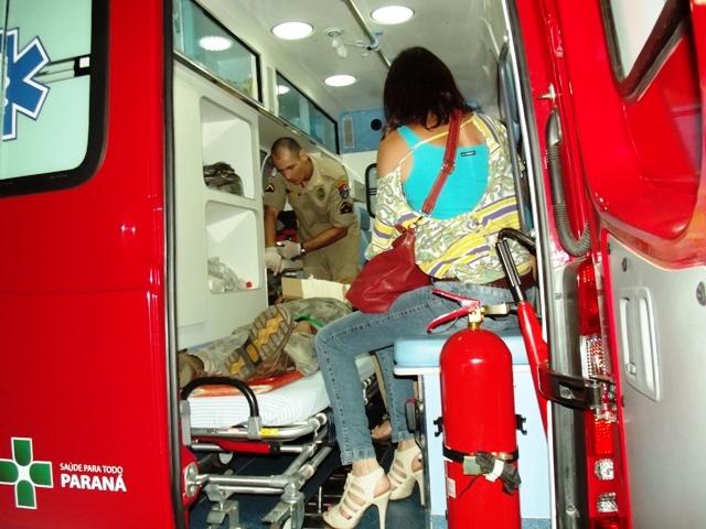 Colisão entre motocicletas deixa duas pessoas feridas em Cambé