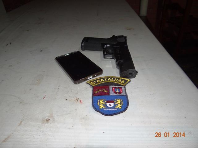 Jovem de 19 anos foi preso após tentativa de assalto em Cambé