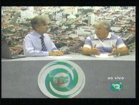 Entrevista com o Presidente da Câmara de Vereadores de Cambé Elizeu Vidotti