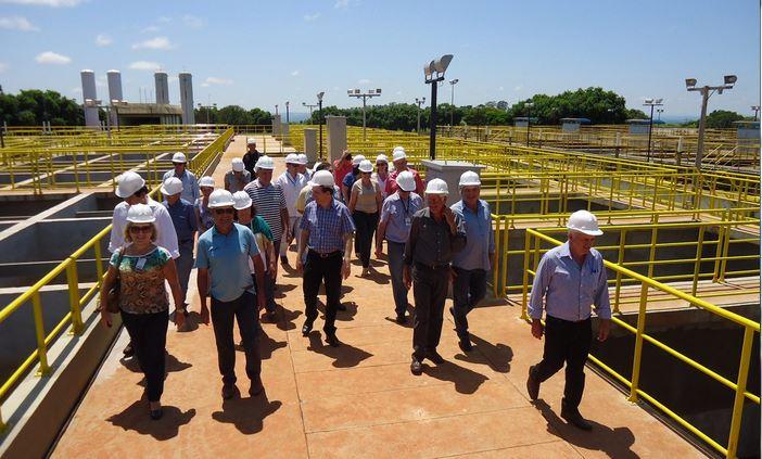 Prefeito de Cambé visita obras de duplicação do Sistema Tibagi