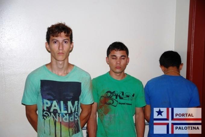 Palotina: Jovens praticam latrocínio e são presos pela Polícia Militar