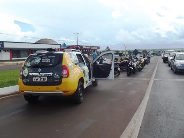 Racha na BR 369 acaba em detenção de motocicletas e condutores