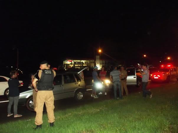 Suspeitos de estarem armados são abordados na BR 369 pela Rotam 249 Cambé