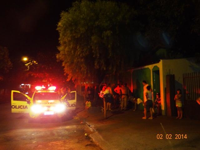 Após discussão dois ficam feridos por arma de fogo no Jardim Santo Amaro em Cambé