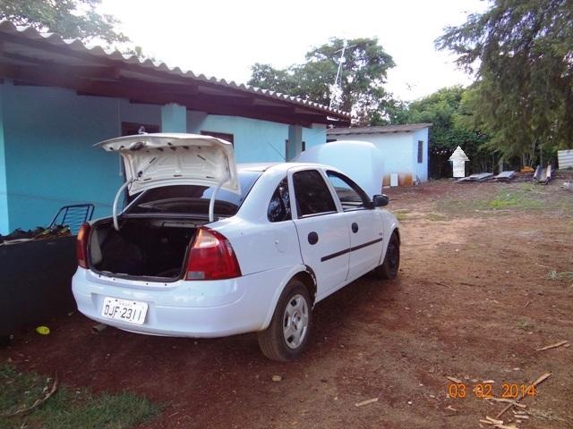 Residência onde Abrão Custódio Cardoso encontrava-se escondido
