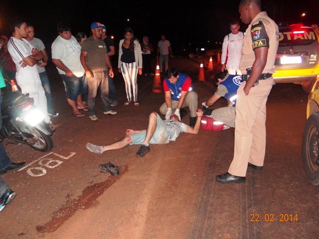 Após atropelar motociclista homem foge sem prestar socorro em Cambé