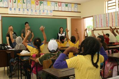 7.200 alunos da Rede Municipal de Ensino voltaram as aulas no dia três de fevereiro