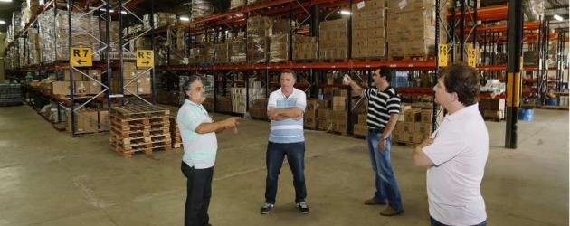 Modelo da Central de Compras e Almoxarifado Central é indicado pelo Tribunal de Contas do Estado para os municípios paranaenses  - André Renato - SECOM