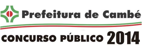 Está aberto período de inscrições para Concurso da Prefeitura de Cambé