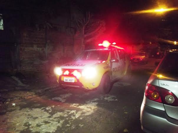 Veiculo Corola é tomado de assalto e recuperado pela Policia Militar de Cambé