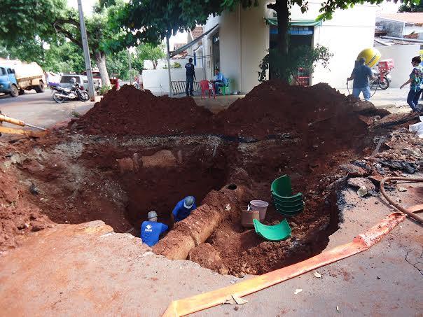 Vazamento afeta abastecimento na Região Norte de Londrina