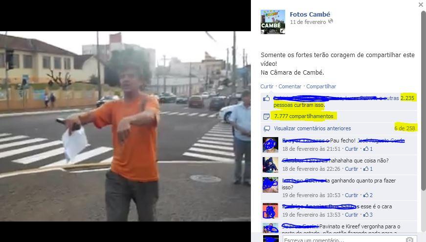 """Prefeito de Cambé entra na justiça contra protesto de """"Boca Aberta"""""""