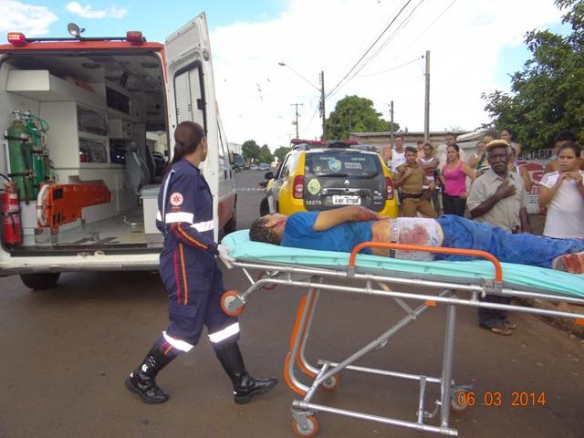 Tentativa de homicídio no Jardim Ana Eliza III em Cambé