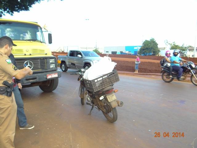 Homem foi atropelado ao atravessar a marginal da PR 445 em Cambé