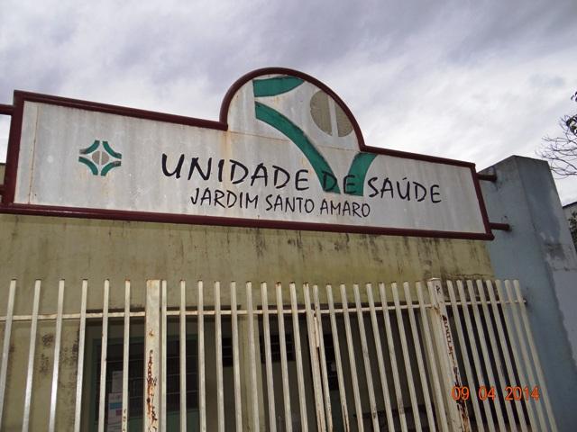 Reforma da Unidade de Saúde do Jardim Santo Amaro resume-se a uma placa