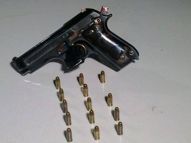 Polícia Militar de Cambé retira das ruas uma pistola 765