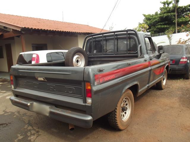 Polícia Militar de Cambé recupera camionete roubada em Alvorada do Sul
