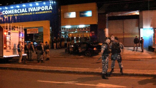 Dois marginais morreram em confronto com a Polícia Militar em Cambé