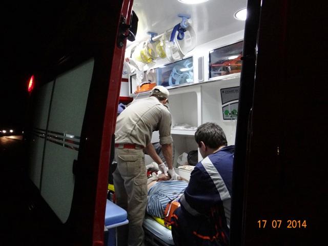 Colisão na BR 369 em Cambé deixa motociclista gravemente ferido
