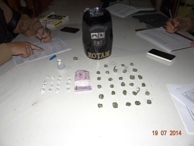 Polícia Militar de Cambé faz apreensão de drogas no Jardim Ana Rosa