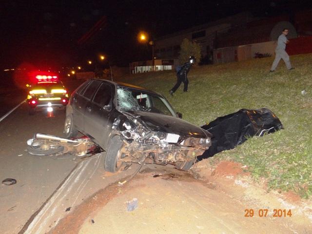 Grave acidente na BR 369 leva a óbito jovem de 26 anos em Cambé