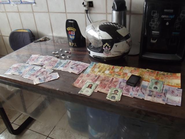 Polícia Militar de Cambé faz apreensão de drogas