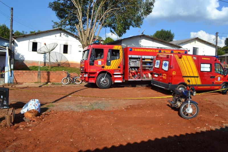 Menino de 3 anos morre em incêndio no bairro Sadia
