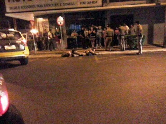 Dois Policiais Militares foram mortos no centro de Medianeira