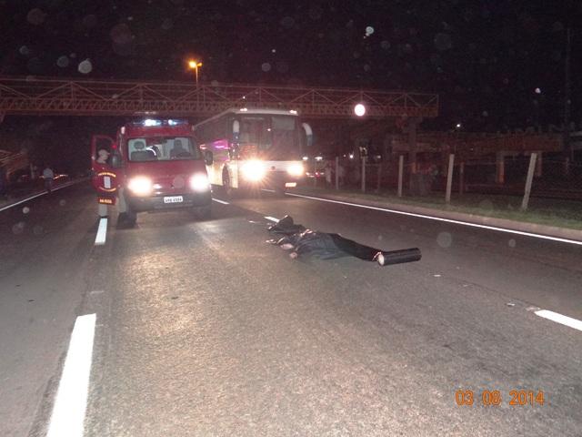 Homem perde a vida em atropelamento na BR 369 em Cambé (Atualizado)