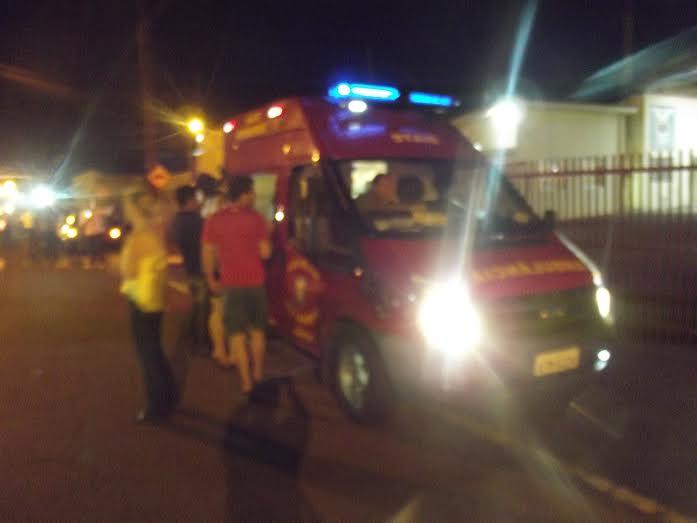 Grave acidente envolvendo três veículos no inicio da noite na BR 369 em Cambé