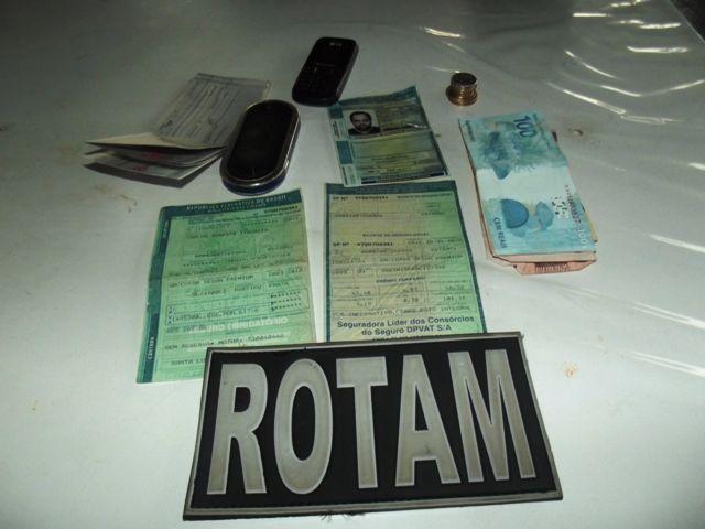 Homem é preso com carro com documentação adulterada em Cambé