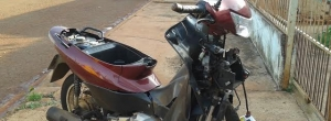 Polícia Militar apreende motocicleta com placa fria em Cambé